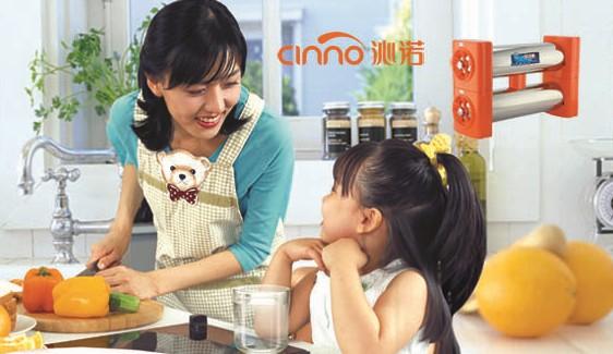 沁诺厨饮净水器走进家庭