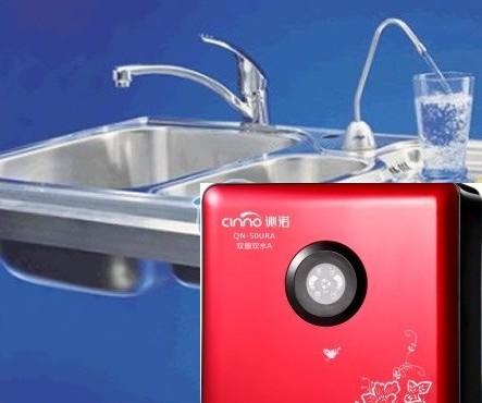 沁诺净水器净水示意图